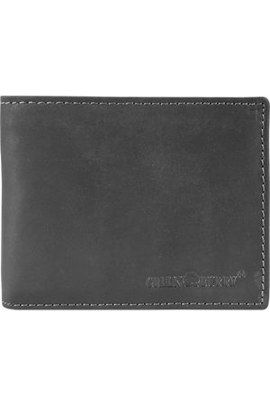 Greenburry Vintage Black Geldbörse Leder 12,5 Cm in , Geldbörsen für Herren