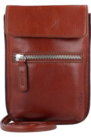 Picard Buddy Handytasche Leder 14 Cm in mittelbraun, Handyhüllen & Zubehör für Damen