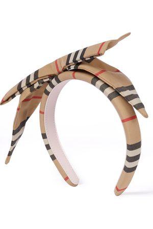 Burberry Haarband Icon Stripe aus Baumwolle
