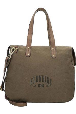 Klondike Damen Handtaschen - Payton Schultertasche 32 Cm in mittelgrün, Schultertaschen für Damen