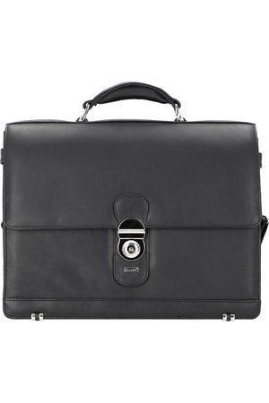 Alassio Monza Aktentasche Leder 38 Cm Laptopfach in , Businesstaschen für Herren