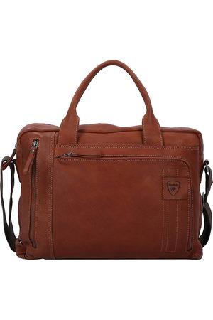 Strellson Upminster Aktentasche Leder 39 Cm Laptopfach in mittelbraun, Businesstaschen für Herren