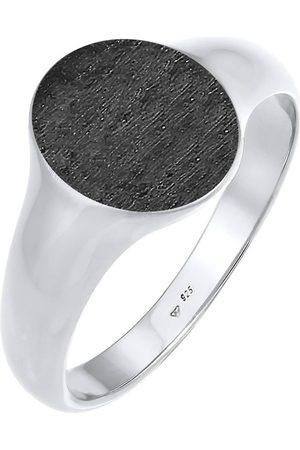 Kuzzoi Ring Basic Cool Siegelring Herren Matt 925 Silber in , für Herren