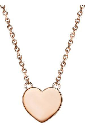 Glanzstücke Halskette Herz in rosé , Schmuck für Damen