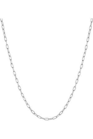 Kuzzoi Halskette Herren Gliederkette Oval Basic Fein 925 in , für Herren