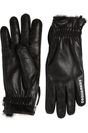 Dsquared2 Handschuhe Aus Nappaleder Mit -logo