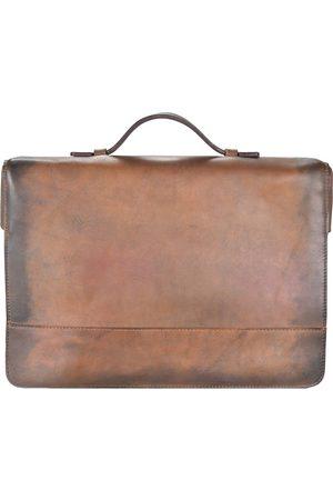Jost Ranger Aktentasche Leder 42 Cm Laptopfach in mittelbraun, Businesstaschen für Herren