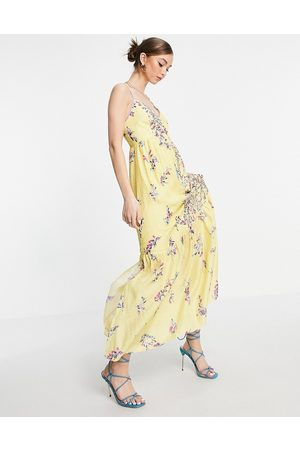 French Connection – Flores – Ärmelloses Maxikleid in