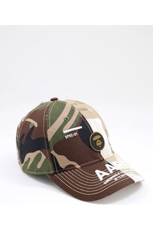 AAPE BY A BATHING APE AAPE By A Bathing Ape – Baseballkappe in mit Military-Muster