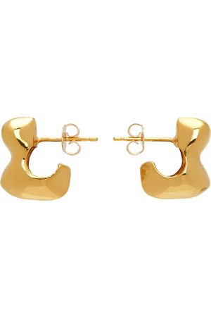 Agmes Simone Bodmer Turner Edition Small Bubble Hoop Earrings