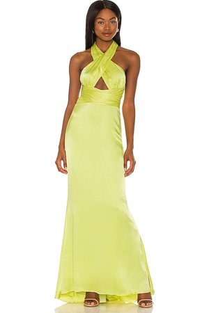 NBD Edith Gown in ,Green. Size XXS, XS, S, M, XL.