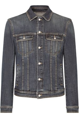 Dolce & Gabbana Ausgeblichene Jeansjacke