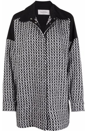 VALENTINO V-logo pattern jacket