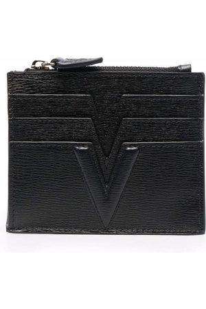 Versace Herren Geldbörsen & Etuis - Logo-print cardholder