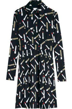 Victoria Victoria Beckham Hemdkleid mit Print