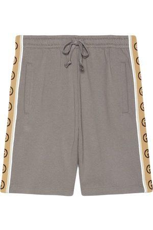 Gucci Shorts mit GG-Streifen