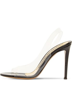 ALEXANDRE VAUTHIER Damen Sandalen - 105mm Hohe Slingback-sandaletten Aus Plexiglas