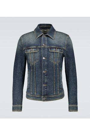Dolce & Gabbana Jeansjacke aus Stretch-Baumwolle