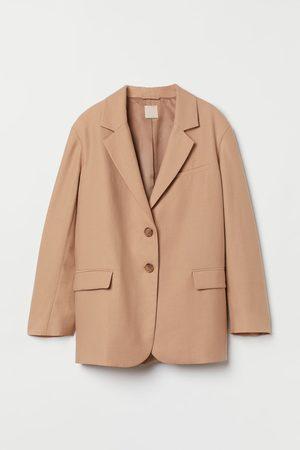 H&M Oversize-Blazer aus Lyocell