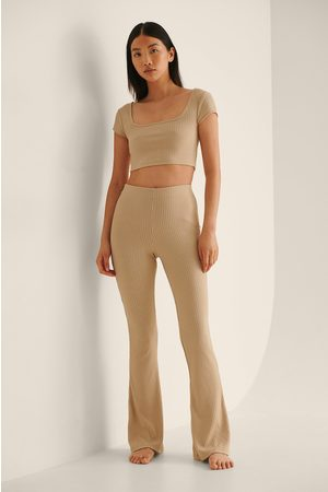 NA-KD Bootcut-Hose Mit Hoher Taille