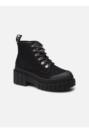 No Name KROSS LOW BOOTS SUEDE by