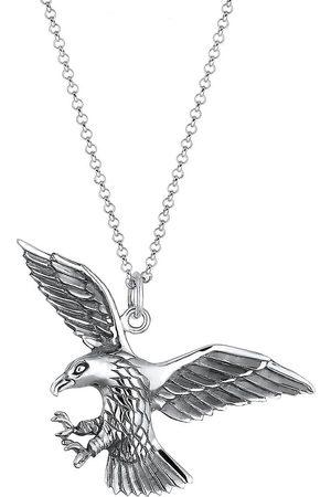 Kuzzoi Herren Halsketten - Halskette Adler Greifvogel Cool 925 Sterling in , für Herren
