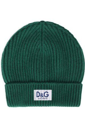 Dolce & Gabbana Herren Hüte - Mütze mit Logo-Patch
