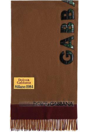 Dolce & Gabbana Herren Schals - Schal mit Logo-Applikation
