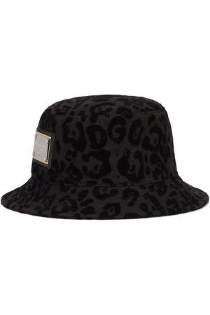 Dolce & Gabbana Herren Hüte - Fischerhut mit Leoparden-Print