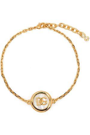 Dolce & Gabbana Kettenarmband mit Logo-Schild