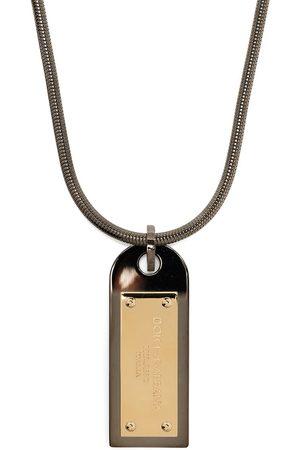 Dolce & Gabbana Halskette mit Logo-Schild