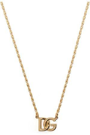 Dolce & Gabbana Herren Halsketten - Halskette mit Logo-Schild