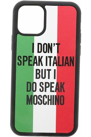 Moschino Italia Cover iPhone 11 Pro Max , unisex, Größe: One size