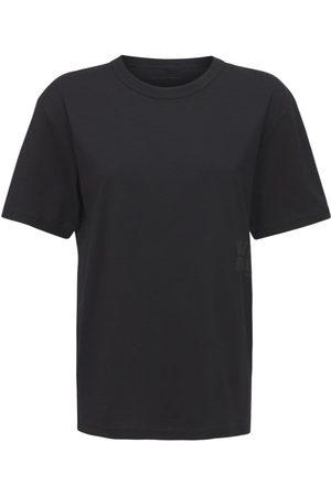 Alexander Wang T-shirt Aus Baumwolljersey Mit Druck