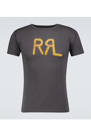 RRL Logo T-Shirt aus Baumwolle