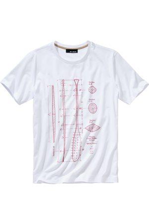 Mey & Edlich Herren Willensstärke-Shirt weiss