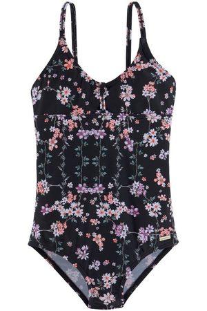 sunseeker Mädchen Badeanzüge - Badeanzug, mit sommerlichem Print
