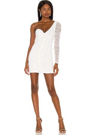 MAJORELLE Karissa Mini Dress in . Size XXS, XS, S, M, XL.