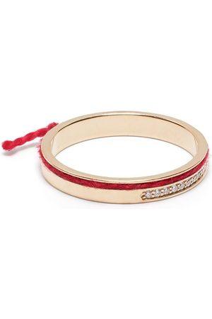 AS29 Damen Ringe - 18kt Rotgoldring mit Diamanten