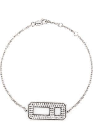 AS29 Damen Armbänder - 18kt Weißgoldarmband mit Diamanten