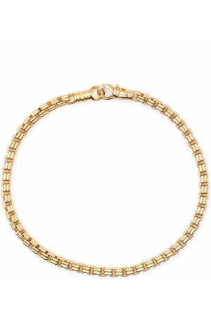 TOM WOOD Armbänder - Vergoldetes Venezianer-Kettenarmband