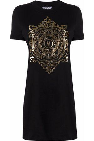 VERSACE Kleid mit Emblem