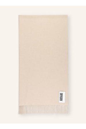 Drykorn Fransen an den Enden. Label-Patch mit Wording. Softer Griff. Hochwertige Wollqualität. Melierte Optik. Maße:- 207 x 63 cm (L x B)