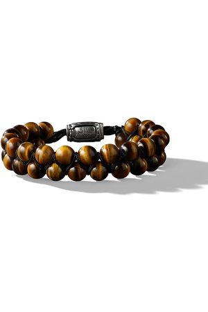 David Yurman Spiritual Beads Armband mit Tigerauge 8mm
