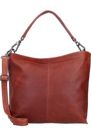 Cowboysbag Dorset Schultertasche Leder 41 Cm in mittelbraun, Schultertaschen für Damen