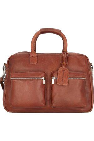 Cowboysbag The Diaper Bag Wickeltasche Leder 39 Cm in mittelbraun, Umhängetaschen für Damen