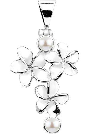 Nenalina Damen Armbänder - Anhänger Pendant Blumen Süßwasserzuchtperle 925 in , Schmuck für Damen