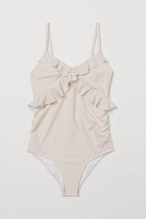 H&M Damen Badeanzüge - MAMA Badeanzug mit Volants