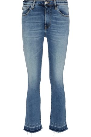 3x1 Mid-Rise Cropped Jeans