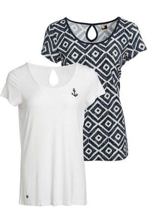 Ocean T-Shirt »Nachhaltige LENZING™ ECOVERO™ Viskose« (Packung, 2er-Pack)